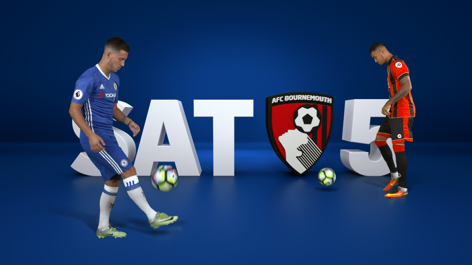 Bournemouth vs Chelsea graphics 1